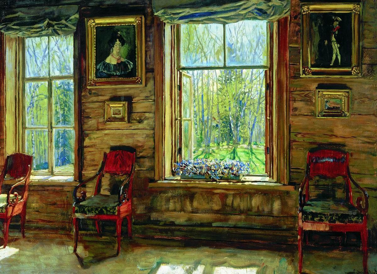 """Станислав Жуковский, """"В старом доме"""", 1912 г."""