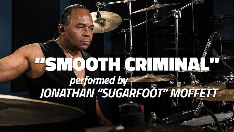 Michael Jackson's Drummer Jonathan Moffett Performs Smooth Criminal