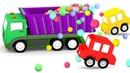 Мультики для детей 4 машинки собирают грузовик! Сборник мультфильмов для малышей