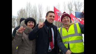 Николай Бондаренко выступил с яркой речью на митинге в Казани!