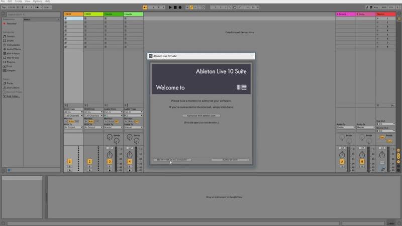КАК УСТАНОВИТЬ И КРЯКНУТЬ Ableton Live 10 Suite КАК У МОРГЕНШТЕРНА.