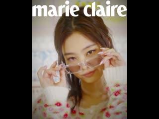 Jennie  marie claire Korea x Gentle Monster (April 2020)