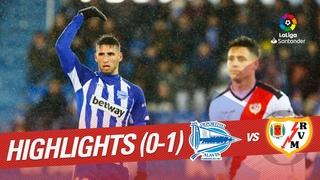 Highlights Deportivo Alaves vs Rayo Vallecano (0-1)