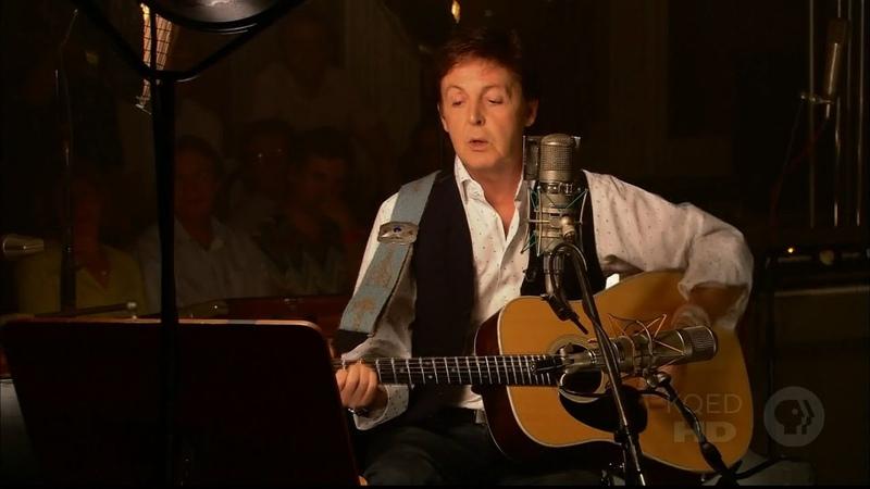 Paul McCartney Jenny Wren Live @ Abbey Road Studios 2005 1080p HD