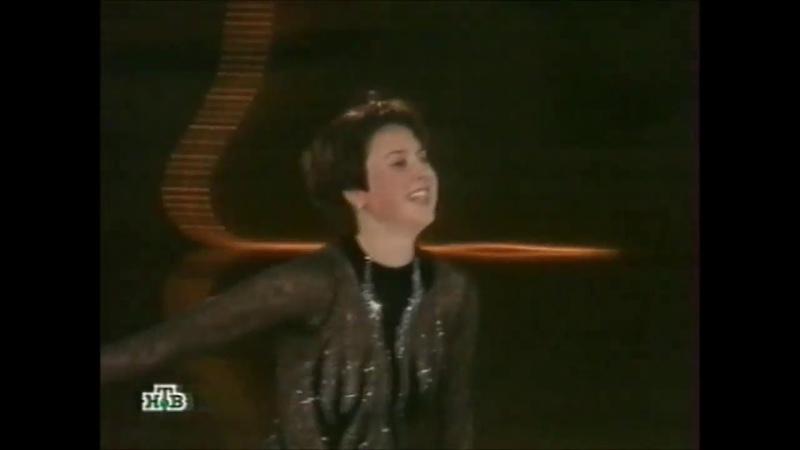 Ирина Слуцкая этап Гран при 2005 С Петербург показательные выступления