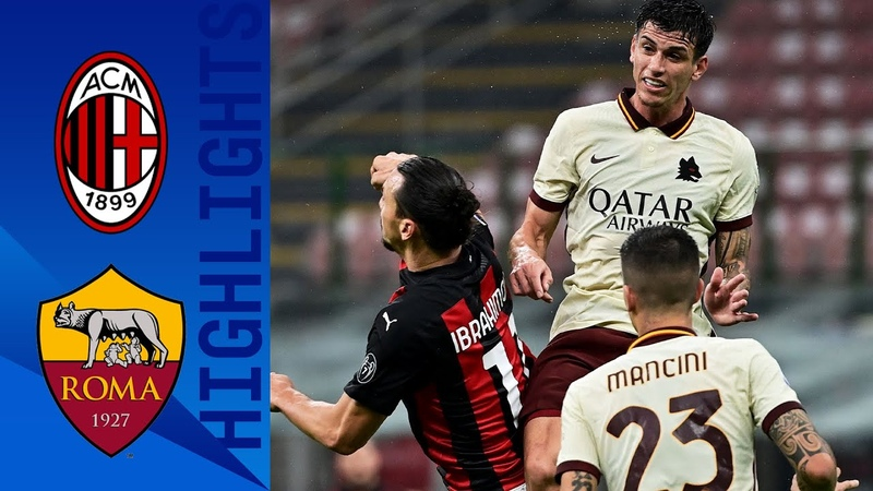 Milan 3 3 Roma Roma fight back thrice to rescue a point Serie A TIM