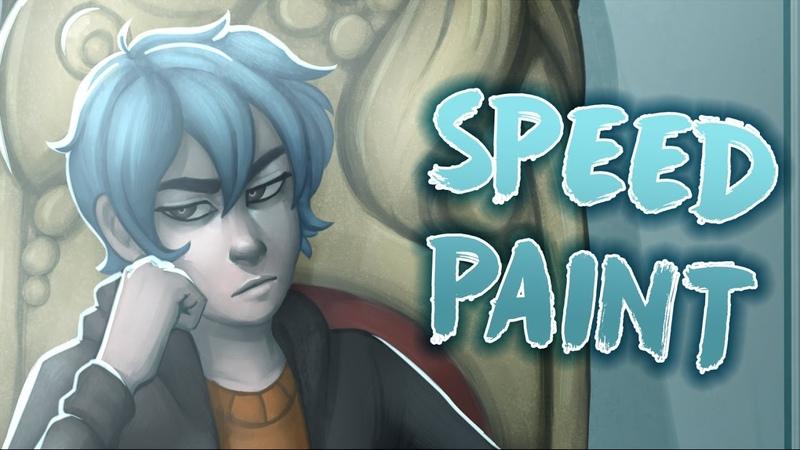 Colorless Comic Speedpaint Joki Throne