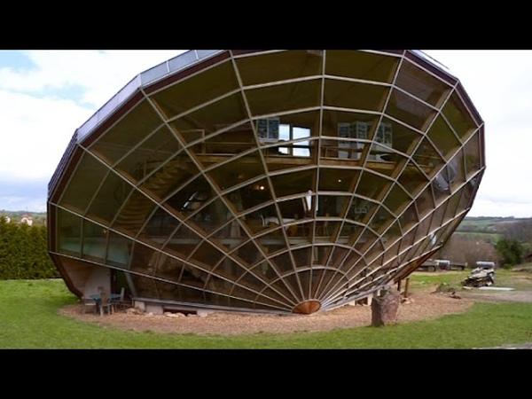 Insolite l'incroyable héliodome, véritable maison solaire !