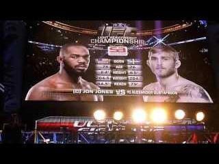 Jon Jones UFC 165 Ringside