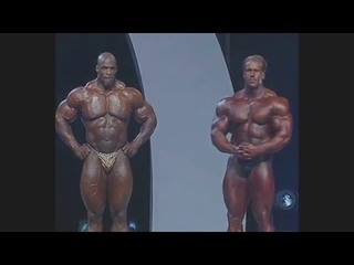 Mr Olympia 2006 Final: Jay Cutler vs Ronnie Coleman
