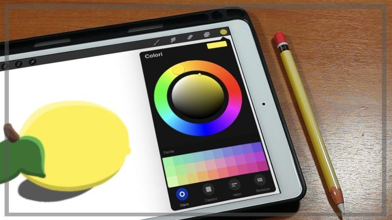 Disegnare con procreate i colori