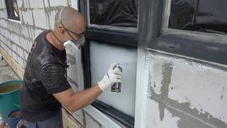 Как покрасить пластиковое окно? Ошибки монтажа СТРОИМ ДЛЯ СЕБЯ