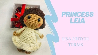 PRINCESS LEIA AMIGURUMI | HOW TO CROCHET | TUTORIAL
