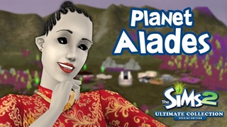 Planet Alades - a neighborhood full of aliens | The Sims 2