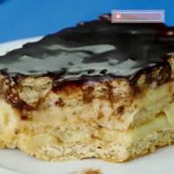 id_13069 Торт из печенья с заварным кремом ❣  Автор: Appetitno TV  #gif@bon