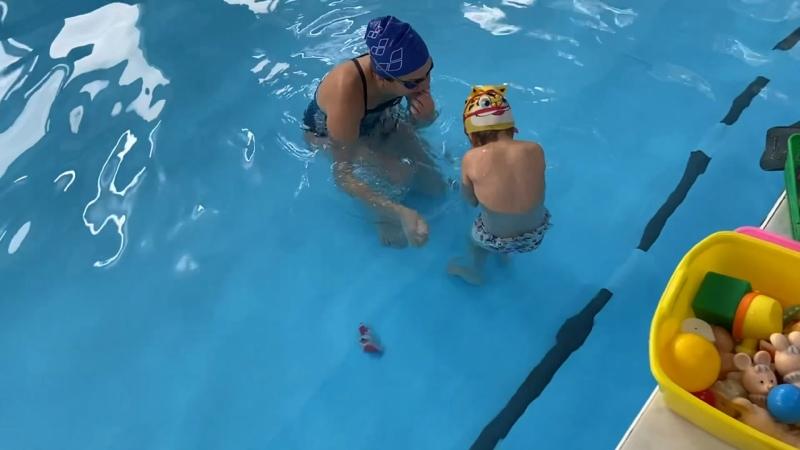 Видео от AquaBaby плавание в раннем возрасте Ухта