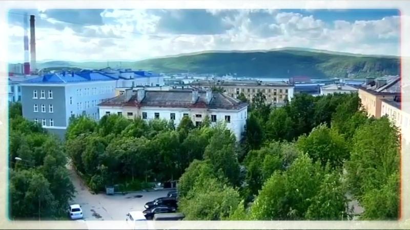 Первый кирпичный жилой дом в Мурманске