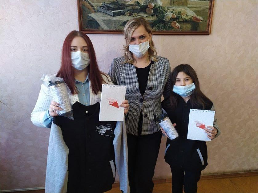 Петровские школьницы стали лучшими среди петровчан - участников регионального проекта