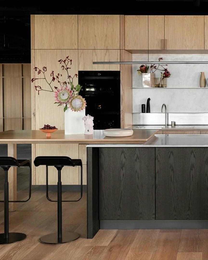 Кухня в квартире Мельбурна, Австралия