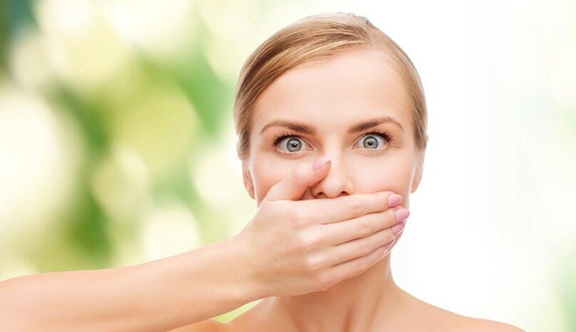 Неприятный запах изо рта или халитоз: ЧТО делать