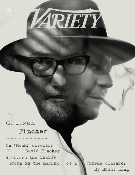 Дэвид Финчер и его «Манк» на обложке нового номера журнала Variety