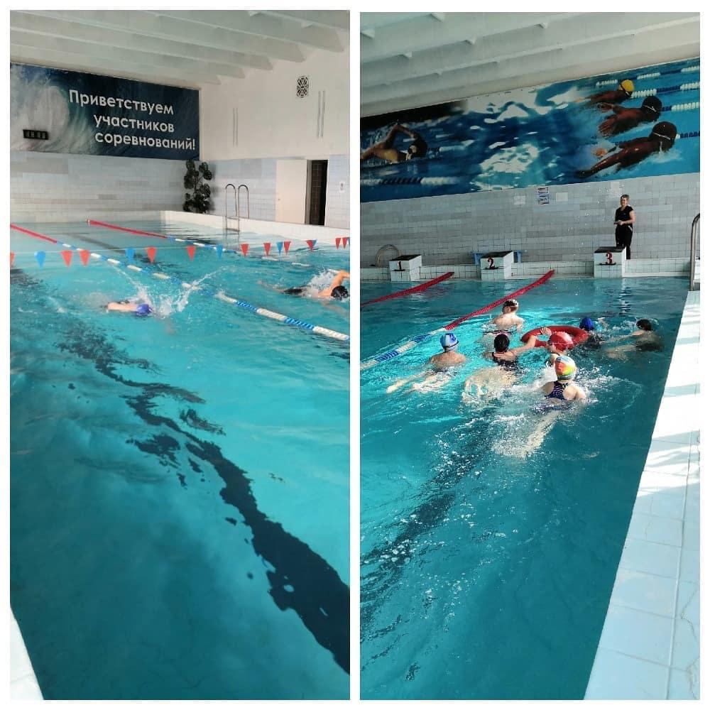 В бассейне «Дельфин» состоялся спортивный праздник «Весенние старты»