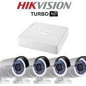 Комплект TurboHD видеонаблюдения Hikvision DS-J142I/7104HGHI-F1
