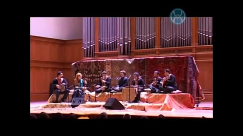 Avaz Dashti Biyar badeh Hosein Nourshargh Group Ghamar Moscow 2012