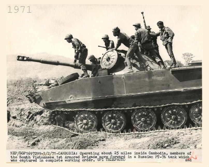 ПТ-76 в Камбодже