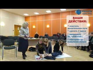 Урок по электробезопасности для старшеклассников из Архангельска
