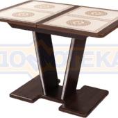 Стол с плиткой - Каппа ПР ВП ОР 03 ОР/ОР пл 52 ,орех