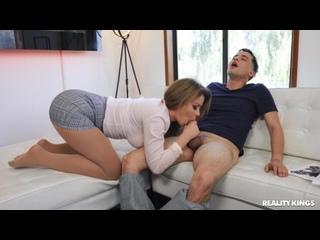 Зрелая женщина психолог трахает неопытного мальчика milf mature woman sex boy porn job hard deep tit ass boob HD (Hot&Horny)