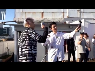 [VIDEO] 190705 Chanyeol & Sehun cut @ W Korea Photoshoot Vlog