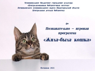 """Познавательно-игровая программа -""""Жила-была кошка"""""""