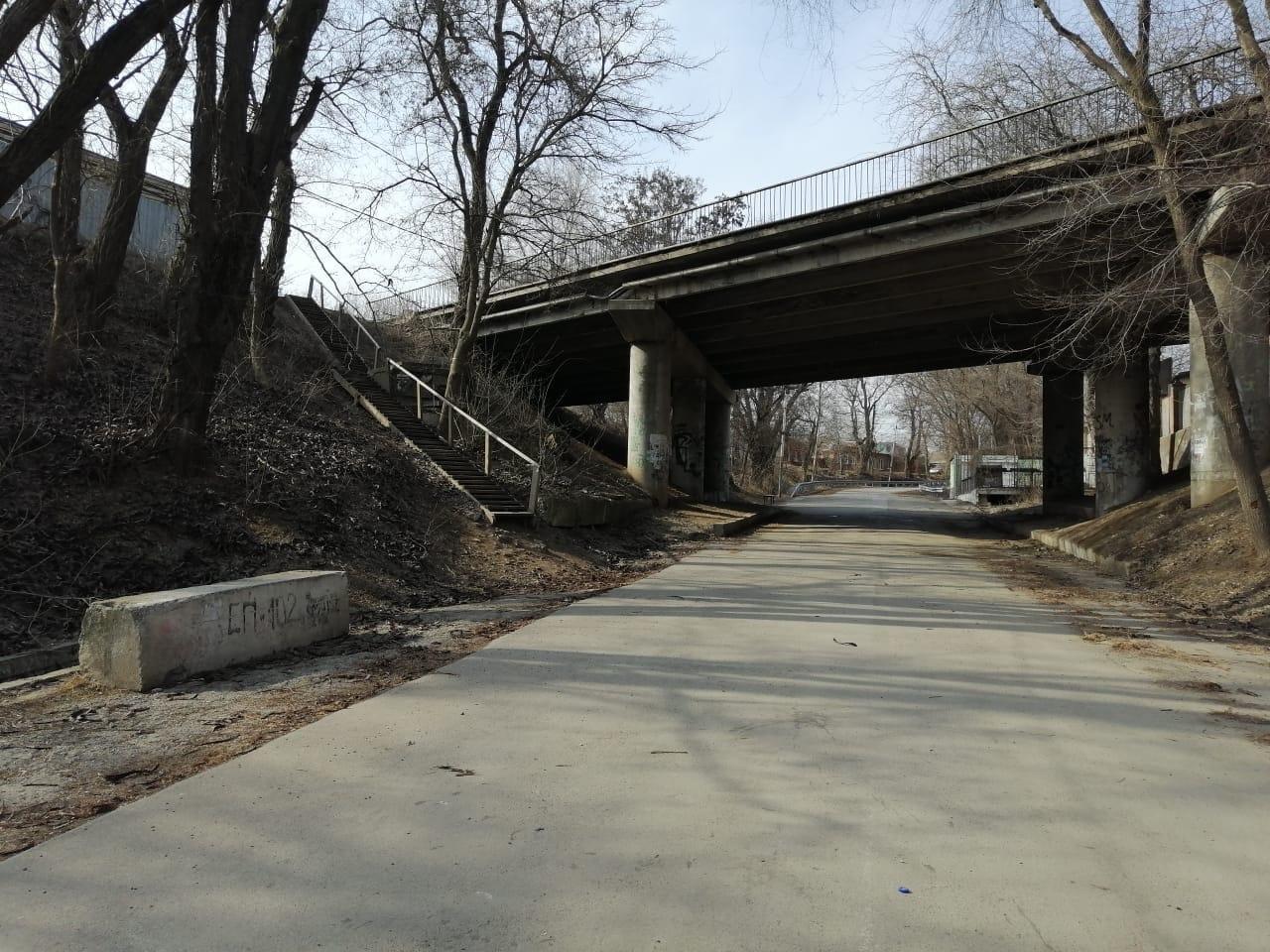 В Таганроге приступили к работам по ремонту моста по улице Шевченко