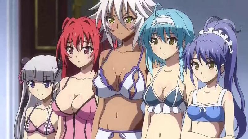 Убираем Цензуру у аниме По Велению Адской Сестры Shinmai Maou Testament