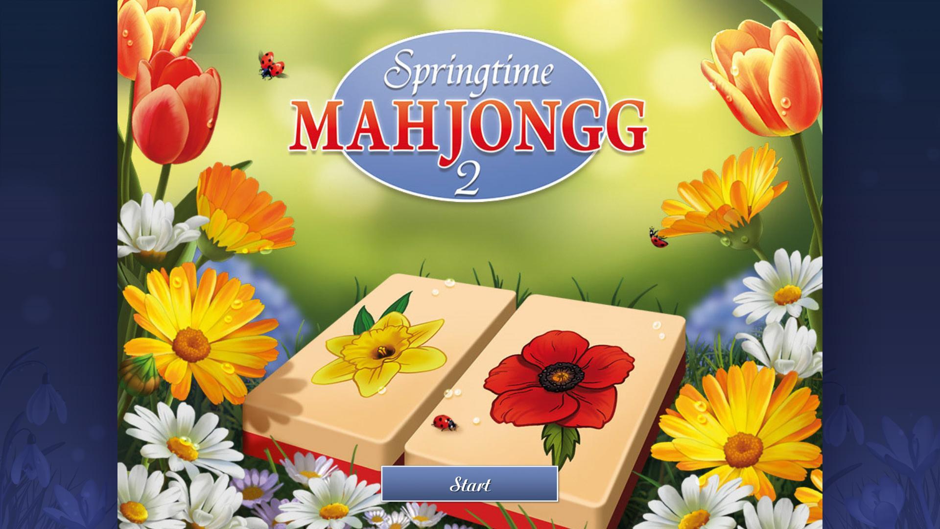 Весенний Маджонг 2 | Springtime Mahjongg 2 (En)