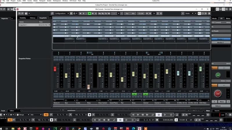 Steinberg Cubase Pro 10 5 Установка и настройка Control Room