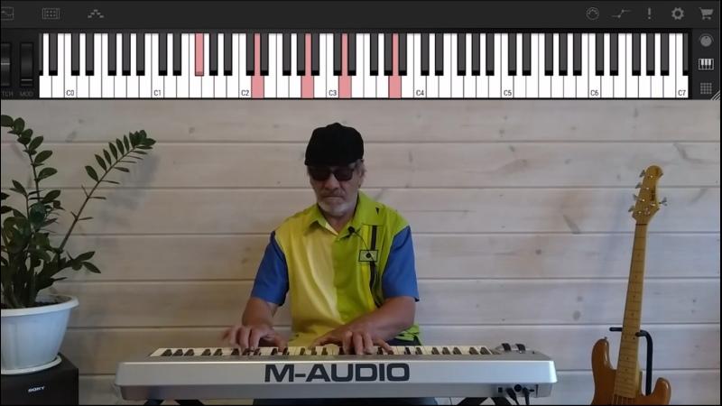 Как играть Tears in Heaven на фортепиано How to play Tears in Heaven