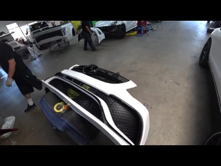 """[LNC COLLISION & CAR CUSTOMIZATION] REBUILDING CHEAPEST SALVAGE WRECKED 2018 MERCEDES GLE 350 50% OFF """"GLE CONVERSION '' PART 5"""