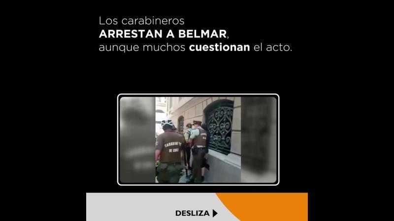 Cuestionan detención del integrante de La Vanguardia en Chile