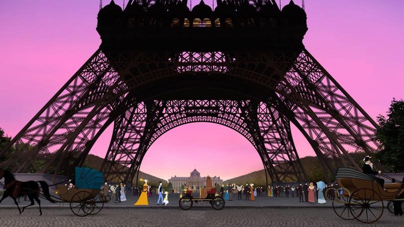 Кадры из фильма «Дилили в Париже»/ «Dilili à Paris», (6+)