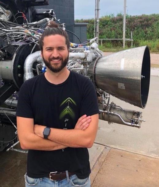Родерик Вандерскофф, ведущий инженер по двигательной установке 1-й ступени