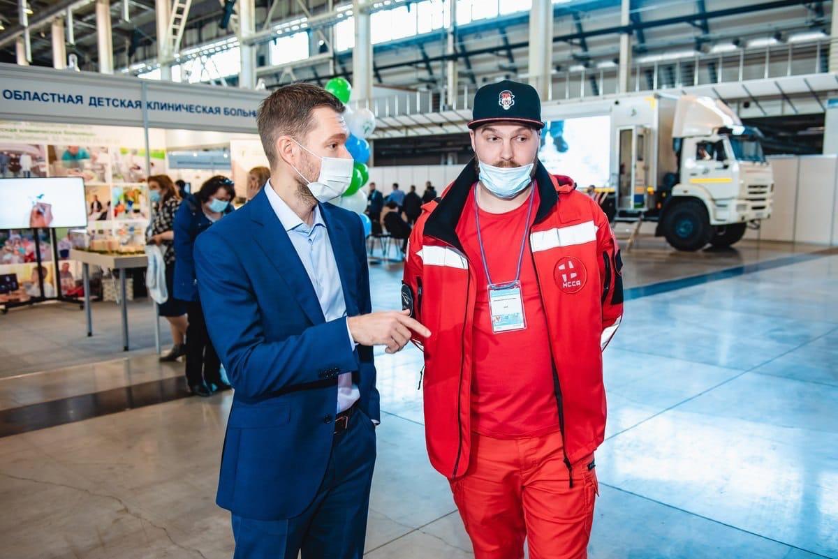 ❗Побывал сегодня на открытии форума «Здравоохранение Урала