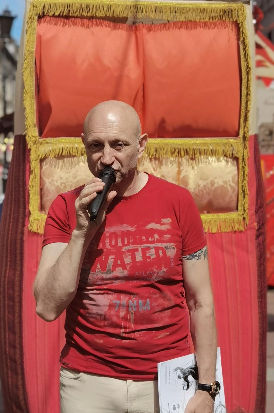 Президент Международного фестиваля кукольных и синтетических театров КУКART Д.С.Бурман