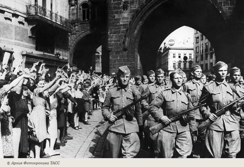 В этот день 76 лет назад, 6 мая 1945 года, началась Пражская наступательная операция Красной Армии