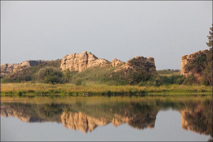 Тайна древней крепости Пор-Бажын, построенной на острове в сибирском озере, изображение №32