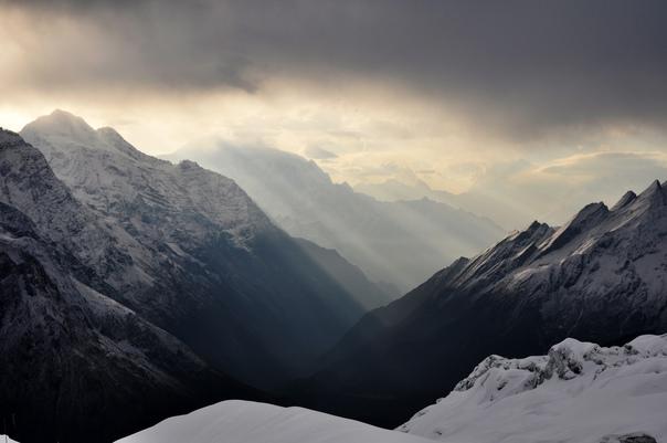 Я люблю вершины, как отдельного человека, как равнозначные части большого целого.