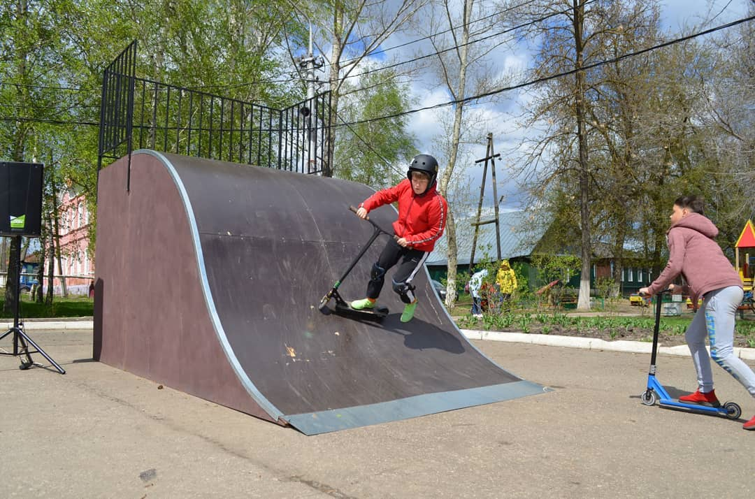 В Петровске открыли скейт-площадку