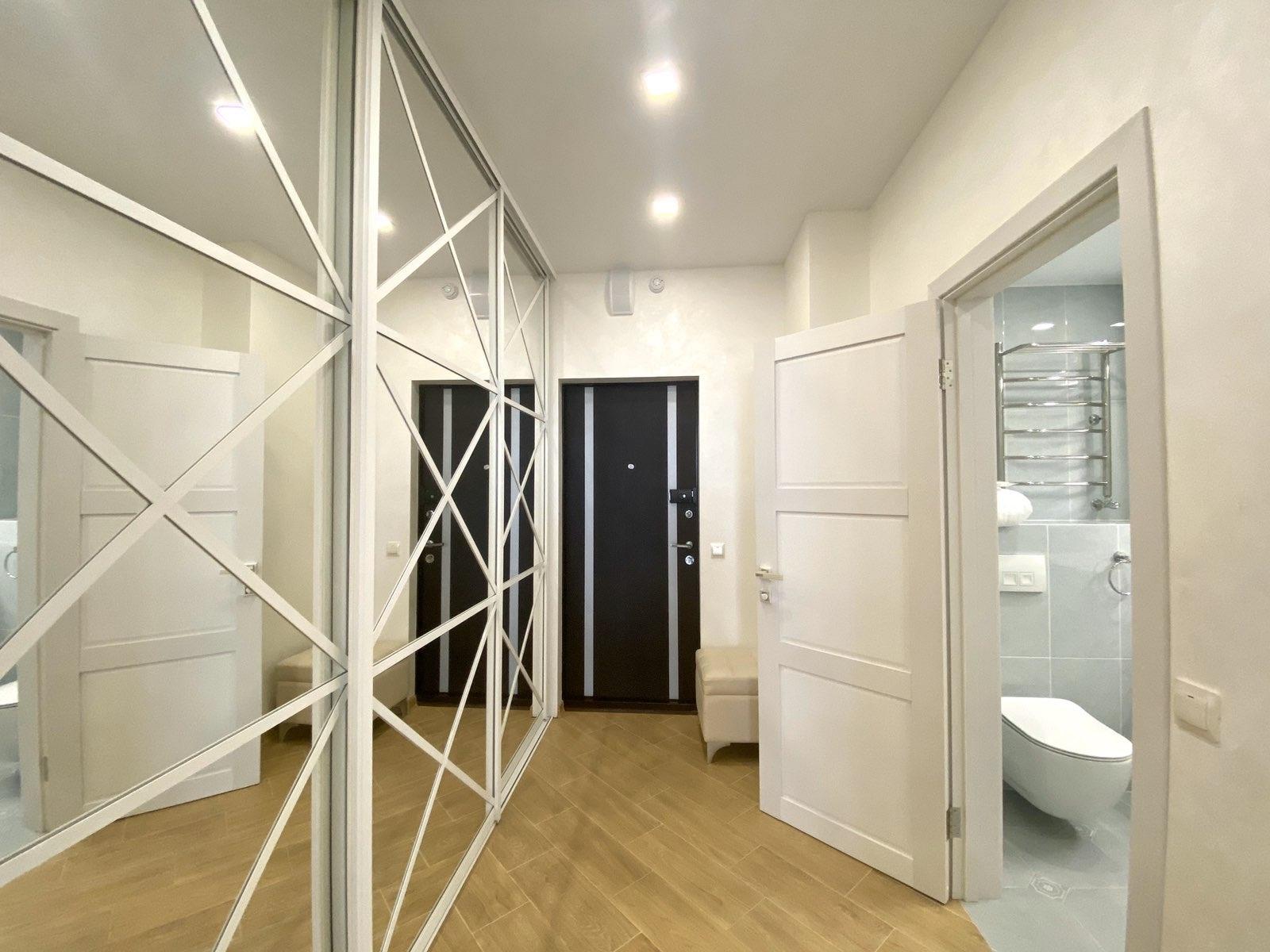 Интерьер квартиры-студии в Севастополе.